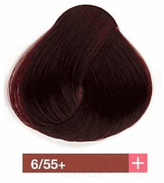 Купить Lakme, Перманентная крем-краска Collage, 60 мл (99 оттенков) 6/55+ Темный блондин интенсивный махагоново-красный