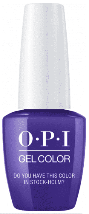 OPI, Гель-лак GelColor, 15 мл (95 цветов) Do You Have This Color In Stock-Holm? color club цвет 0923 voodoo you do