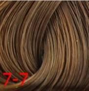 Estel, Краска для волос Princess Essex Color Cream, 60 мл (135 оттенков) 7/7 Средне-русый коричневый /кофе с молоком