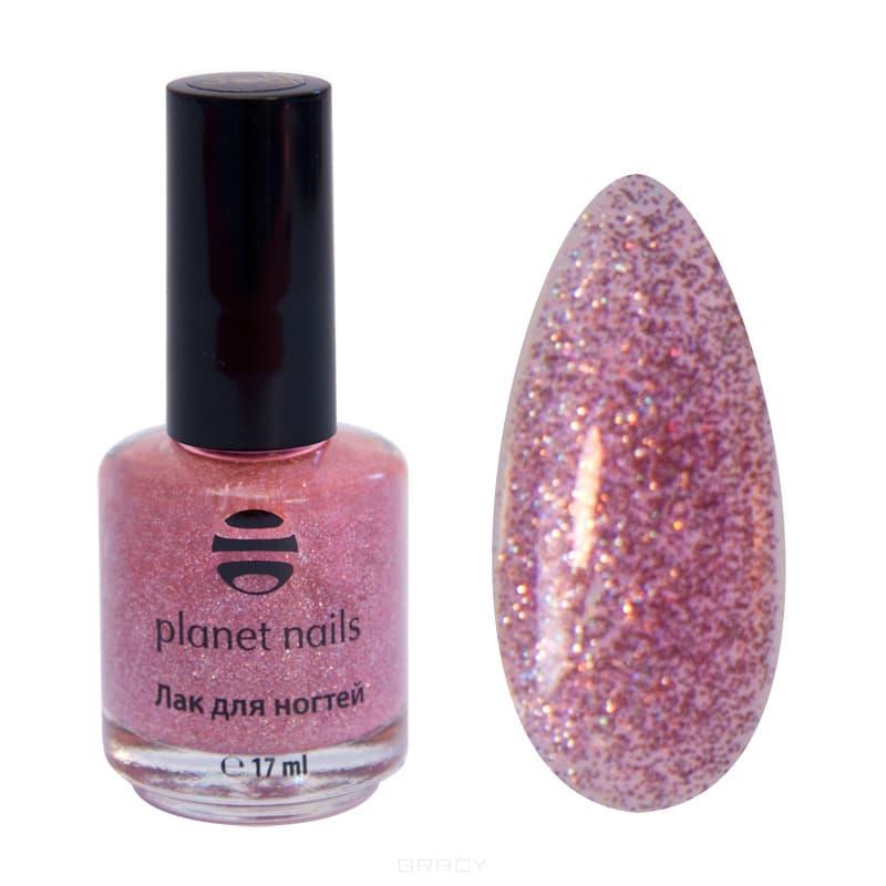 Planet Nails, Глиттер лак для ногтей, 17 мл (21 оттенок) 320