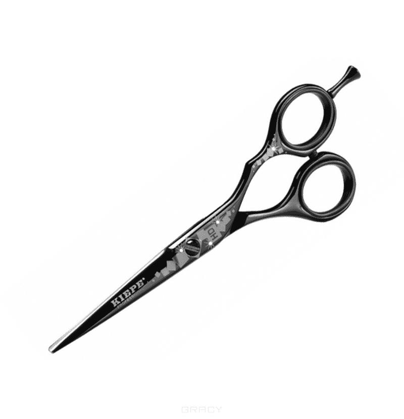 Kiepe, Ножницы прямые 5,5 HD (2 цвета), 1 шт, Черный 2437-55-1Ножницы для стрижки волос<br><br>