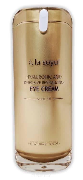 Купить La Soyul, Hyaluronic Acid Intensive Revitalizing Eye Cream Крем для кожи вокруг глаз с гиалуроновой кислотой, омолаживающий, 30 мл