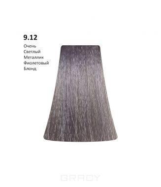 Купить BB One, Перманентная крем-краска Picasso (153 оттенка) 9.12Very Light Metallic Violet Blond/Очень Светлый Металлик Фиолетовый Блонд