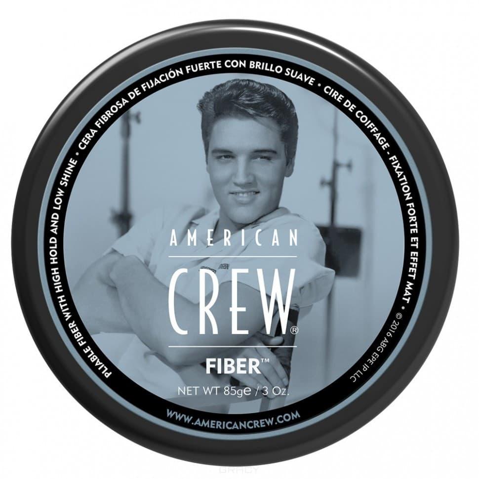 American Crew, Паста высокой фиксации с низким уровнем блеска, подходит для укладки усов King Fiber Gel, 85 гУкладка<br><br>
