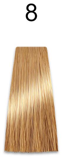 Купить Kaaral, Стойкая безаммиачная крем-краска с гидролизатами шелка Baco Soft Ammonia Free, 60 мл (42 оттенка) 8 светлый блондин