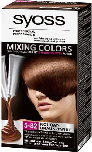 Syoss, Краска для волос Mixing Colors, 30/30 мл (13 оттенков) 5-82 Шоколад КоктейльОкрашивание волос Syoss<br><br>