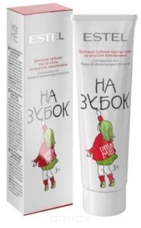Estel, Little Me Детская зубная паста со вкусом земляники Эстель Toothpaste Strawberry, 50 мл estel little me детская зубная паста со вкусом апельсина 50 мл