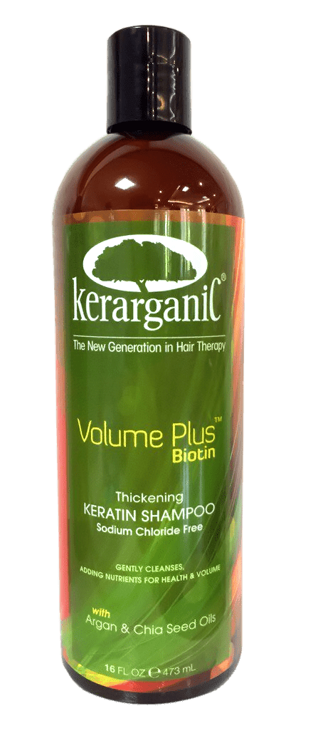 Kerarganic, Безсульфатный кератиновый шампунь с Биотином «Объем плюс биотин», 473 мл kerarganic кондиционер восстанавливающий безсульфатный 473 мл