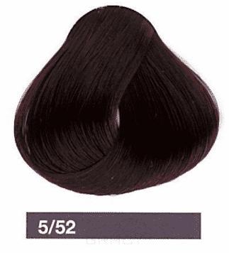Lakme, Перманентная крем-краска Collage, 60 мл (99 оттенков) 5/52 Светлый шатен махагоново-фиолетовый фото