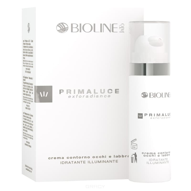 Bioline, Увлажняющий крем для контура глаз и губ Primaluce Exforadiance, 30 мл