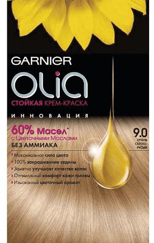 Garnier, Краска для волос Olia, 160 мл (24 оттенка) 9.0 Очень светло-русый garnier краска для волос olia 160 мл 24 оттенка 8 31 светло русый кремовый 160 мл
