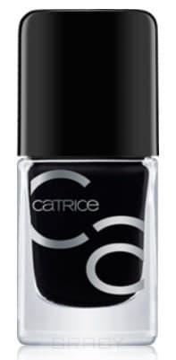 Купить Catrice, Лак для ногтей ICONails Gel Lacquer (43 оттенка) 20 Black to the Routes черный