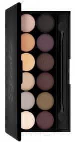 Sleek MakeUp, Тени для век в палетке Eyeshadow Palette I-Divine, 12 тонов (13 видов) тон AU Naturel 601 цена