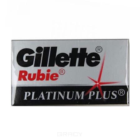 Gillette, Лезвия для станка Rubie платиновые, 5 штБритвы, станки, кассеты<br><br>