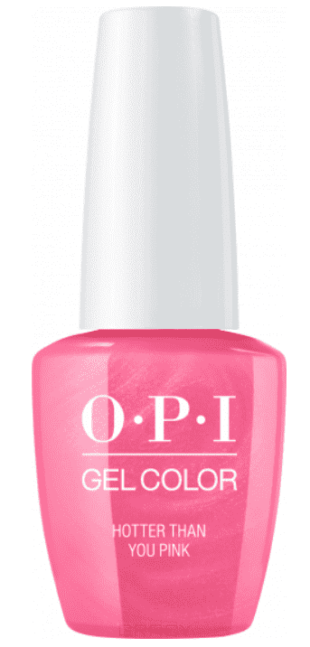 OPI, Гель-лак GelColor, 15 мл (95 цветов) Hotter Than You Pink beautix гель лак 311 15 мл