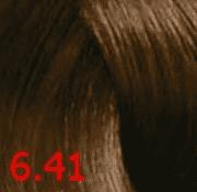 Revlon, Перманентный краситель без аммиака Revlonissimo Color Sublime, 75 мл (60 оттенков) 6.41 темный блондин медно-пепельный фото