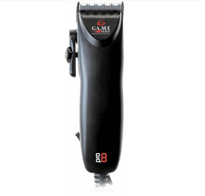 Ga.Ma, Машинка для стрижки Pro8 (от шнура, настройка величины среза)Приборы для стрижки волос<br><br>