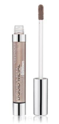 Catrice, Тени для век кремовые Liquid Metal Longlasting Cream Eyeshadow (7 тонов) 040 Brown Under тауповый фото