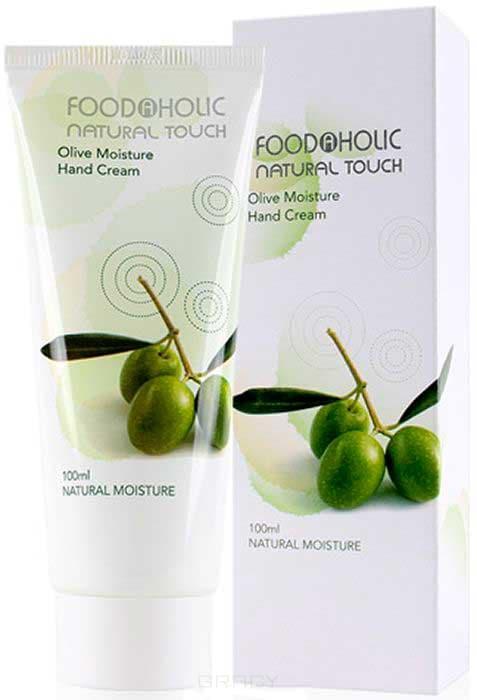 купить FoodaHolic, Moisture Hand Cream Olive Крем для рук с экстрактом Оливы, 100 мл онлайн
