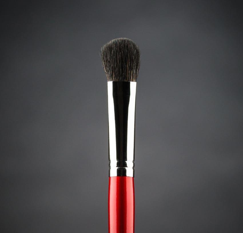 Кисть овальная для нанесения и растушевки сухих текстур, енот, d 10, 33e valeri d кисть из нейлона овальная 8 мм 6м 3220