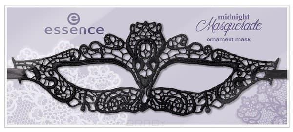 Essence, Кружевная маска для лица Midnight Masquerade