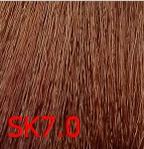 Купить Kaaral, Крем-краска для волос Baco Permament Haircolor, 100 мл (106 оттенков) 7.0SK блондин SilKera