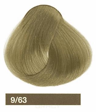 Lakme, Перманентная крем-краска Collage, 60 мл (99 оттенков) 9/63 Светлый блондин коричнево-золотистый lakme перманентная крем краска collage 60 мл 99 оттенков 9 34 светлый блондин золотисто медный
