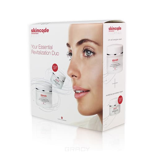 Skincode, Набор Essential Revitalization Duo, 50/15 мл набор essential revitalization duo 50 15 мл