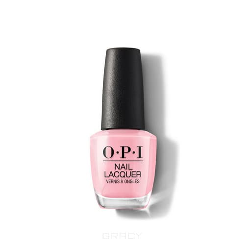 OPI, Лак для ногтей Nail Lacquer, 15 мл (293 цвета) Pink Ladies Rule the School / Grease
