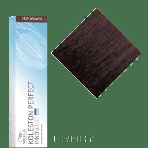 Wella, Стойка крем-краска Koleston Perfect Innosense, 60 мл 5/7 светло-коричневый коричневыйColor Touch, Koleston, Illumina и др. - окрашивание и тонирование волос<br><br>