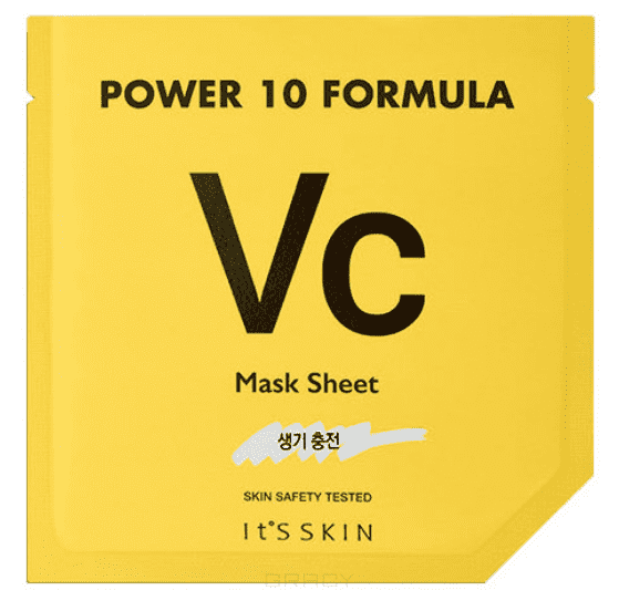 Купить It's Skin, Power 10 Formula Mask Sheet VC Тканевая маска тонизирующая Ит Скин, 25 мл