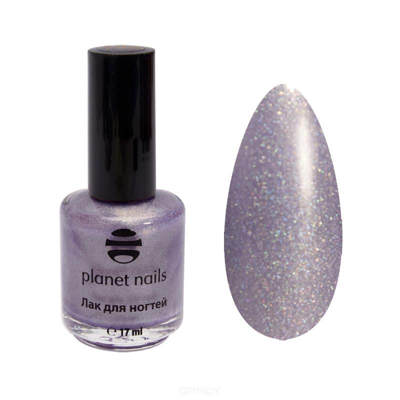 Planet Nails, Голографический лак дл ногтей, 17 мл (34 оттенка) Голографический лак дл ногтейЦветные лаки дл ногтей<br><br>