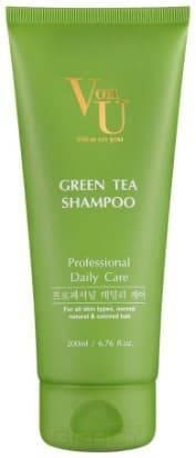 Купить Von U, Шампунь для волос с зеленым чаем Green Tea Shampoo, 200 мл