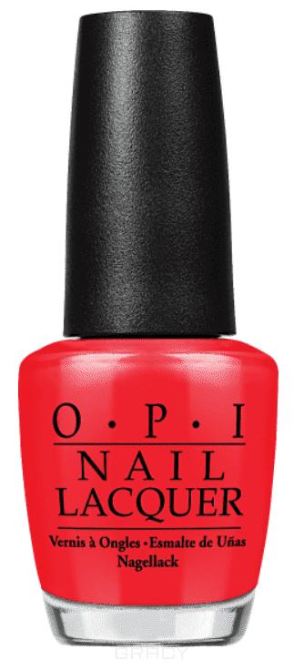 OPI, Лак для ногтей Classic, 15 мл (106 цветов) Color So Hot It Berns opi лак для ногтей you re so vain illa coca cola 15мл