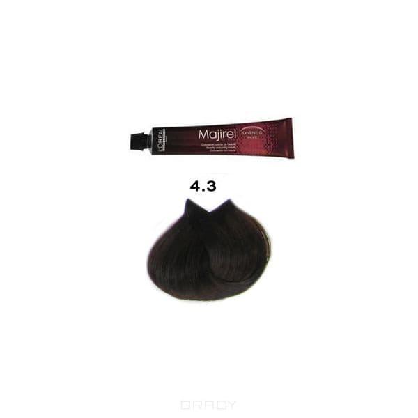 L'Oreal Professionnel, Крем-краска для волос Мажирель Majirel, 50 мл (88 оттенков) 4.3 шатен золотистый футболка классическая printio дейв гаан depeche mode