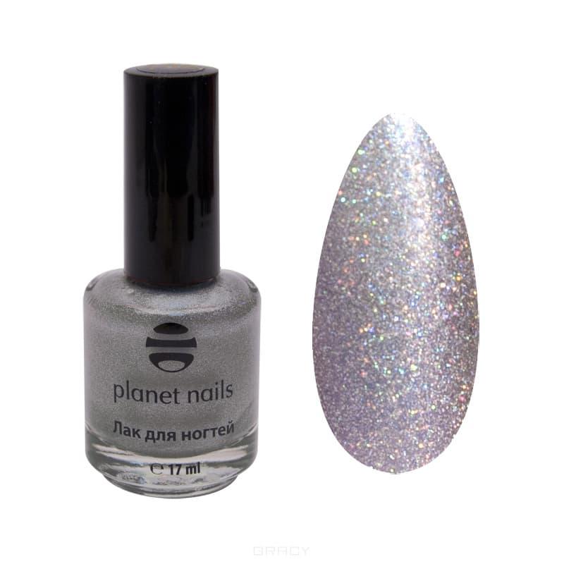 Planet Nails, Голографический лак для ногтей, 17 мл (34 оттенка) 200 planet nails голографический лак для ногтей 17 мл 34 оттенка 200 17 мл
