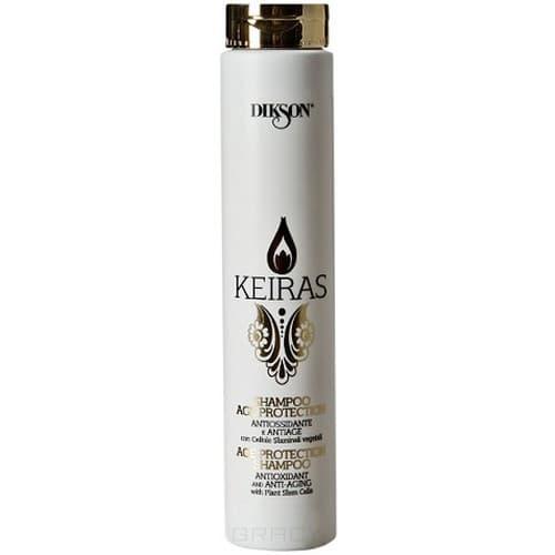 Dikson, Шампунь для волос тонизирующий со стволовыми клетками Keiras Shampoo Age Protection , 250 млШампуни<br><br>