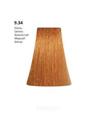 Купить BB One, Перманентная крем-краска Picasso Colour Range без аммиака (76 оттенков) 9.34Very Light Gold Copper Blond/Очень Светло-Золотистый Медный Блонд