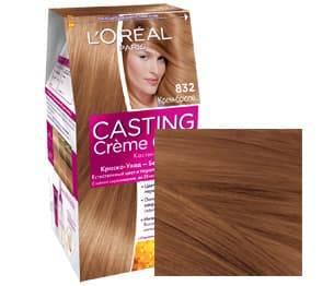 LOreal, Краска для волос Casting Creme Gloss (37 оттенков), 254 мл 832 Крем-брюлеОкрашивание<br><br>