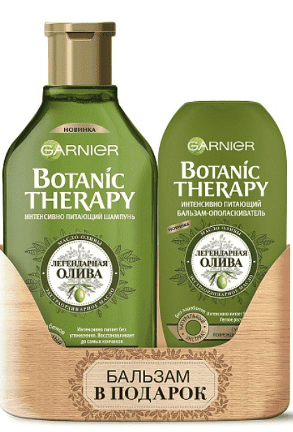 Garnier, Набор Олива шампунь + бальзам BOM Botanic Therapy, 400 + 200 мл eglo 94323 page 2