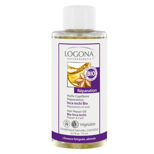 Logona, Восстанавливающее масло для волос, 75 мл масло moroccanoil восстанавливающее масло для для тонких волос объем 25 мл