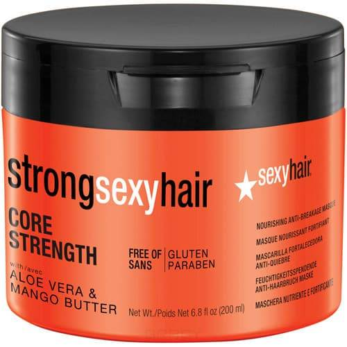 Купить Sexy Hair, Маска восстанавливающая для прочности волос Core Strength Nourishing Anti-Breakage Masque, 200 мл