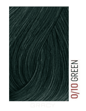 Купить Lakme, Перманентная крем-краска для волос без аммиака Chroma, 60 мл (32 тона) 0/10 Зеленый