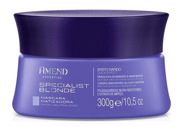 Купить Amend, Маска для волос для нейтрализации желтизны Neutralizing Specialist Blonde Mask, 300 мл