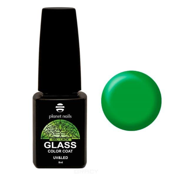 Planet Nails, Гель-лак GLASS (6 оттенков), 8 мл Гель-лак GLASS - 742 irisk гель лак odri macarons 87