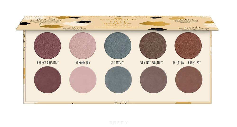 Купить Essence, Палетка теней Fall Back To Nature Eyeshadow Palette, 01 I Love Fall Most Of All