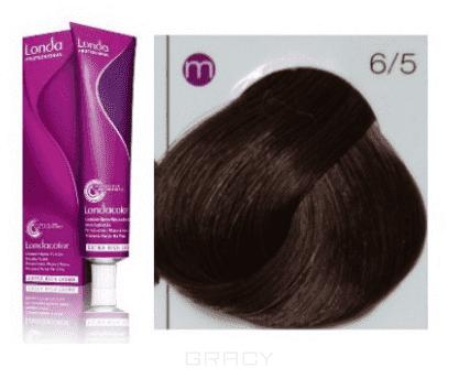 Купить Londa, Краска Лонда Профессионал Колор для волос Londa Professional Color (палитра 124 цвета), 60 мл 6/5 тёмный блонд красный