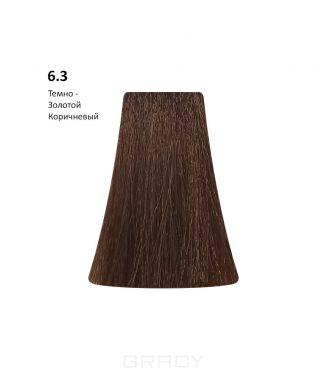 Купить BB One, Перманентная крем-краска Picasso Colour Range без аммиака (76 оттенков) 6.3Dark Golden Blond/Темно-Золотой Коричневый