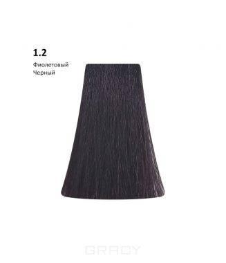 Купить BB One, Перманентная крем-краска Picasso (153 оттенка) 1.2 Violet Black/Фиолетовый Черный
