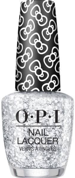 OPI, Лак для ногтей Nail Lacquer, 15 мл (293 цвета) Glitter to My Heart / HELLO KITTY 2019 фото